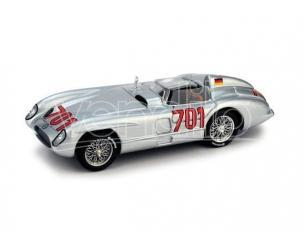 Brumm BM0190C MERCEDES 300 SLR N.701 ACCIDENT MILLE MIGLIA 1955 K.KLING 1:43 Modellino