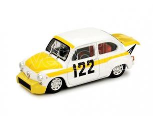 Brumm R382 FIAT ABARTH 850TC COPPA COLLIMA 1/43 Modellino