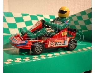Bum Slot Cars BS-102 GO-KART SUPER GO-KART RED 1/32 Modellino
