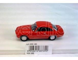Club Bialbero A2000 ALFA ROMEO 2000 RED 1/43 Modellino