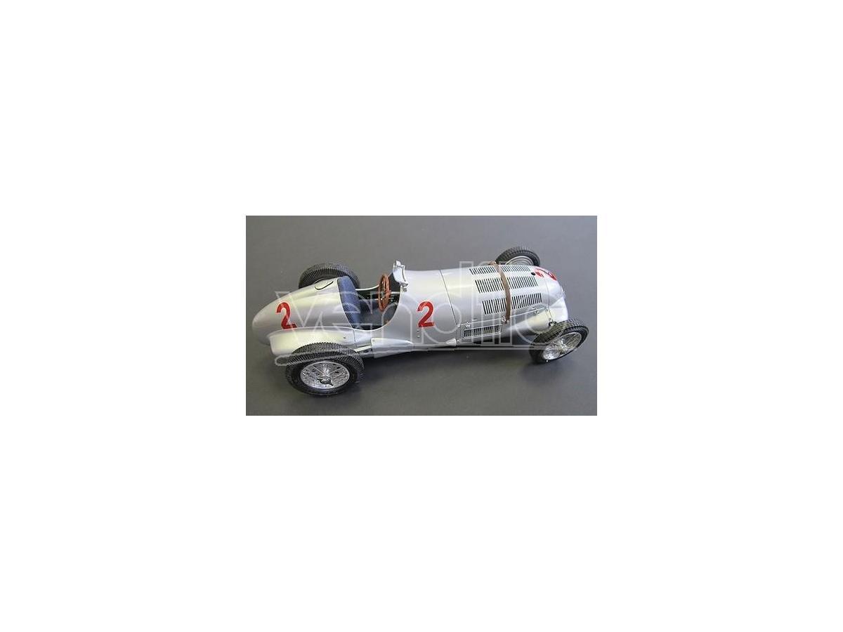 CMC CMC114 MERCEDES W125 H.LANG N.2 DONINGTON GP 1937 1:18 Modellino