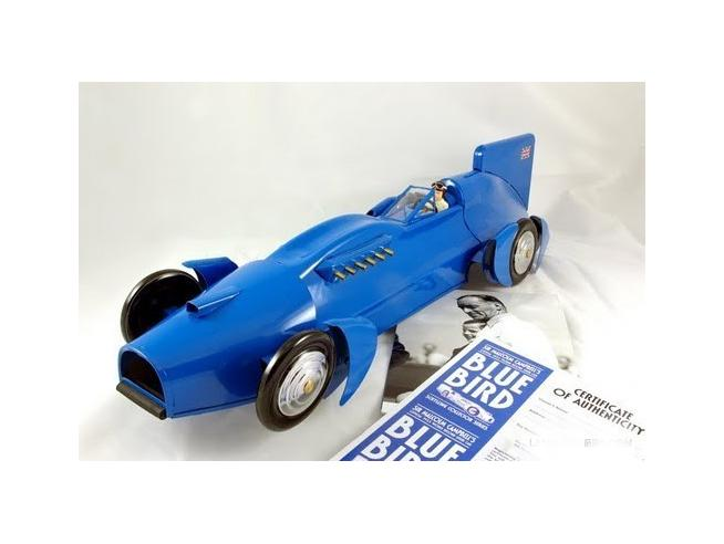 Die Blechfabrik 21733 BLUE BIRD 1933 WORLD RECORD CAR BBC Modellino