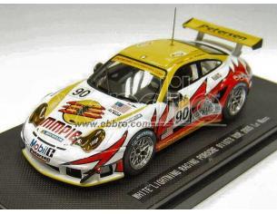 Ebbro 43777 PORSCHE 911 GT 3 RSR N.90 Le Mans '05 1/43 Modellino