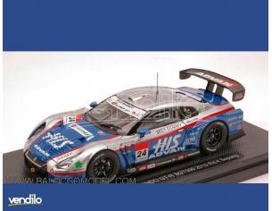 Ebbro EB44428 NISSAN GT-R N.24 SEPANG 2010 1:43 Modellino