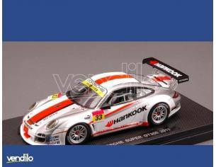 Ebbro EB44540 PORSCHE 997 GT3 N.33 HANKOOK SUPER GT 300 2011 1:43 Modellino