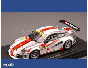 Ebbro EB44597 PORSCHE 911 N.33 SUPER GT300 2011 KAGEYAMA-FUJII 1:43 Modellino