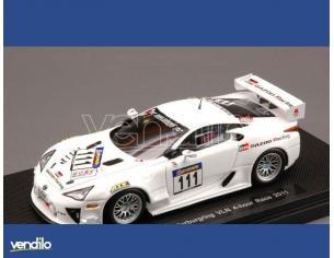 Ebbro EB44629 LEXUS LFA N.111 NURBURGRING VLN RACE 2011 1:43 Modellino