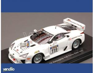 Ebbro EB44631 LEXUS LFA N.119 NURBURGRING VLN RACE 2011 1:43 Modellino