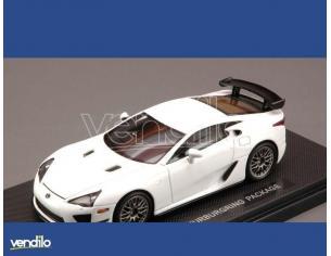 Ebbro EB44637 LEXUS LFA ALLESTIMENTO NURBURGRING  WHITE 1:43 Modellino