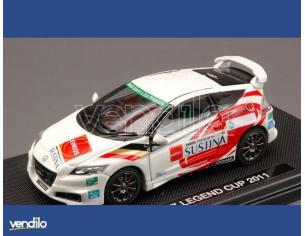 Ebbro EB44692 HONDA CR-Z LEGEND CUP 2011 WHITE (DECALS FOR N.3/15/32/37) 1:43 Modellino