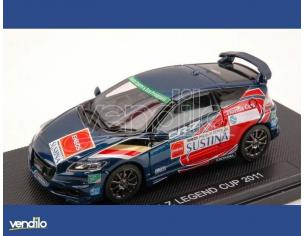 Ebbro EB44694 HONDA CR-Z LEGEND CUP 2011  BLUE (DECALS FOR N.36/55/100) 1:43 Modellino
