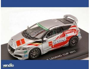 Ebbro EB44695 HONDA CR-Z LEGEND CUP 2011  SILVER (DECALS FOR N.14/17/82) 1:43 Modellino