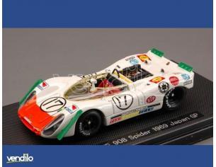 Ebbro EB44711 PORSCHE 908 N.17 JAPAN GP 1969 1:43 Modellino