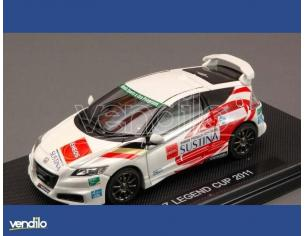 Ebbro EB44797 HONDA CR-Z LEGEND CUP 2011 WHITE (DECALS FOR N.18/20/24/81) 1:43 Modellino