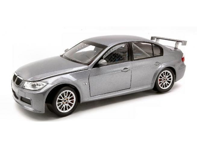 Guiloy GY67509 BMW 320 SI WTCC TEST CAR SILVER 1:18 Modellino