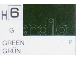 Gunze GU0006 GREEN GLOSS ml 10 Pz.6 Modellino