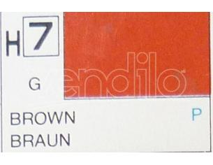 Gunze GU0007 BROWN GLOSS ml 10 Pz.6 Modellino
