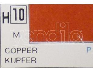 Gunze GU0010 COPPER METALLIC ml 10 Pz.6 Modellino