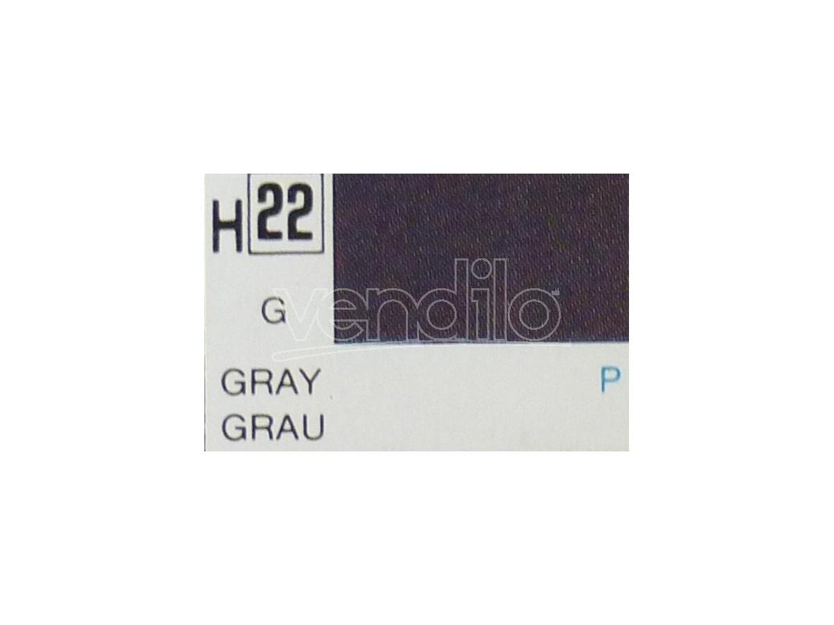 Gunze GU0022 GREY GLOSS ml 10 Pz.6 Modellino