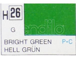 Gunze GU0026 BRIGHT GREEN GLOSS ml 10 Pz.6 Modellino
