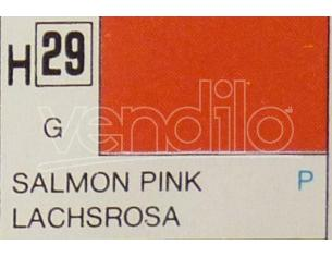 Gunze GU0029 SALMON PINK GLOSS ml 10 Pz.6 Modellino