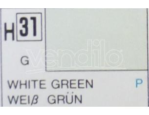 Gunze GU0031 WHITE GREEN GLOSS ml 10 Pz.6 Modellino