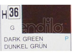 Gunze GU0036 DARK GREEN GLOSS ml 10 Pz.6 Modellino