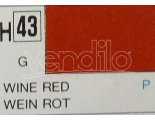Gunze GU0043 WINE RED GLOSS  ml 10 Pz.6 Modellino