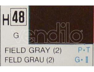 Gunze GU0048 FIELD GRAY GLOSS  ml 10 Pz.6 Modellino