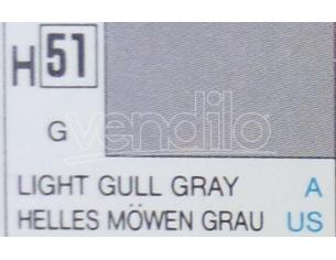 Gunze GU0051 LIGHT GULL GREY GLOSS ml 10 Pz.6 Modellino