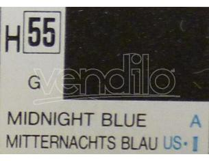 Gunze GU0055 MIDNIGHT BLUE GLOSS  ml 10 Pz.6 Modellino