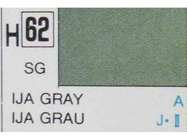 Gunze GU0062 IJA GRAY SEMI-GLOSS ml 10 Pz.6 Modellino