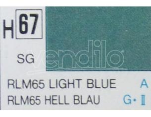 Gunze GU0067 LIGHT BLUE SEMI-GLOSS  ml 10 Pz.6 Modellino