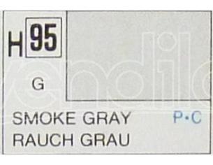 Gunze GU0095 SMOKE GREY GLOSS ml 10 Pz.6 Modellino