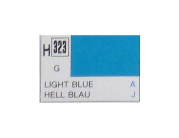Gunze GU0323 LIGHT BLUE GLOSS ml 10 Pz.6 Modellino