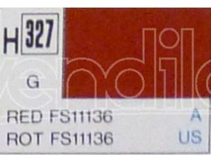 Gunze GU0327 RED GLOSS FS11136 ml 10 Pz.6 Modellino