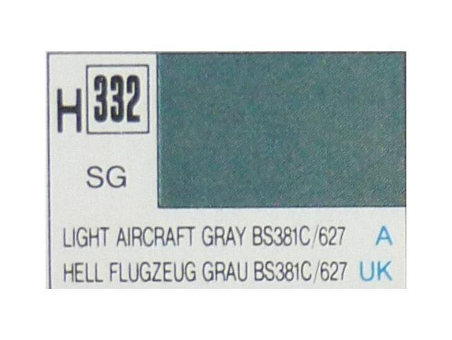 Gunze GU0332 LIGHT AIRCRAFT GRAY SEMI-GLOSS ml 10 Pz.6 Modellino