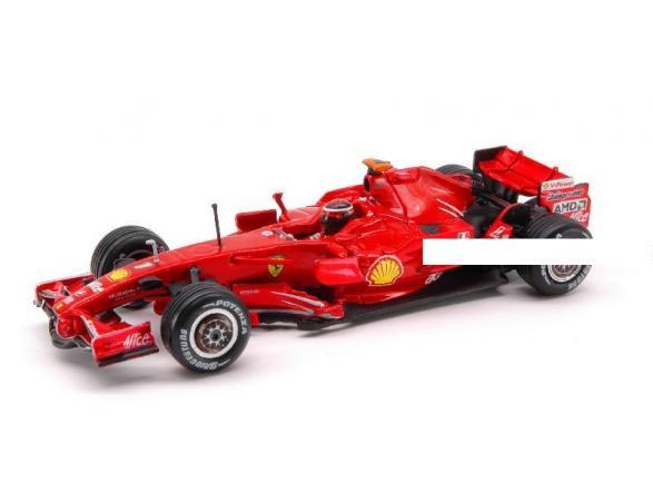 Hot Wheels HWL8779 FERRARI K.RAIKKONEN 2008 1:43 Modellino