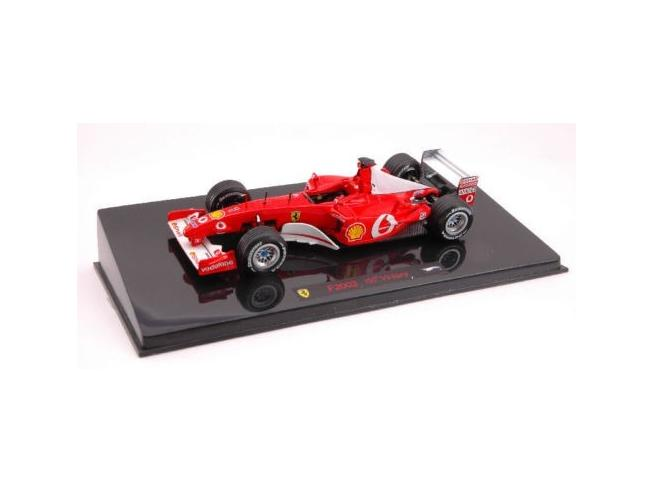 Hot Wheels HWN5603 FERRARI M.SCHUMACHER '02 N.1 1:43 Modellino