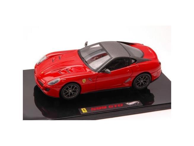 Hot Wheels HWT6267 FERRARI 599 GTO ROSSA 1:43 Modellino