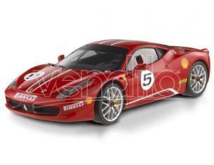 Hot Wheels HWX5486 FERRARI 458 ITALIA CHALLENGE RED 1:18 Modellino