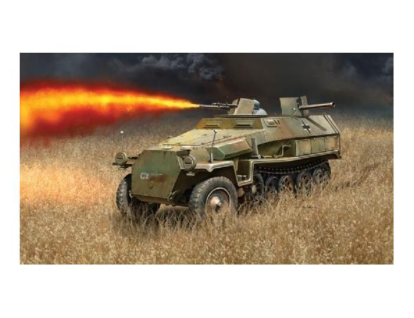 Italeri IT7067 SD KFZ 251/16 FLAMMPANZERWAGEN KIT 1:72 Modellino