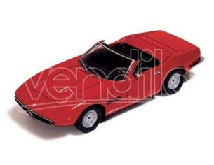Ixo model CLC052 MASERATI GHIBLI SPYDER 1970 RED 1:43 Modellino