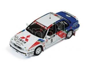 Ixo model RAC222 MITSUBISHI GALANT  N.9 WINNER 1000 LAKES 1989 BILLSTAM-ERICSSON 1:43 Modellino