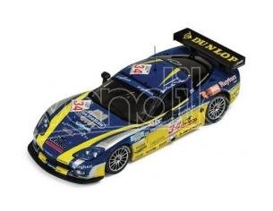 Ixo model GTM060 CORVETTE C6-R N.34 SPA 2006 1:43 Modellino