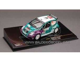Ixo model RAM328 CITROEN C 2 N.46 JORD.RALLY'08 1:43 Modellino