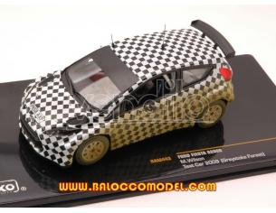 Ixo model RAM443 FORD FIESTA S2000 TEST CAR GREYSTOKE FOREST 2009 1:43 Modellino