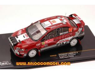 Ixo model RAM448 MITSUBISHI LANCER EVO X N.59 RALLY JAPAN TAGUCHI-STACEY 1:43 Modellino