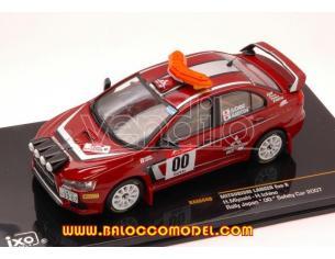 Ixo model RAM449 MITSUBISHI LANCER EVO X N.00 RALLY JAPAN SAFETY CAR 1:43 Modellino
