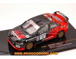 Ixo model RAM451 MITSUBISHI LANCER EVO X N.4 JRC TOUR DE KYUSYU 2008 1:43 Modellino
